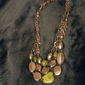 Lia Sophia jade necklace